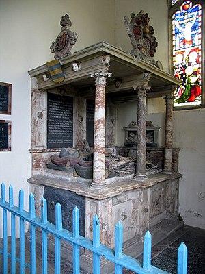 Emneth - Image: St Edmund, Emneth, Norfolk Tomb chest