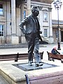 St George's Square, Harold Wilson statue - geograph.org.uk - 518795.jpg