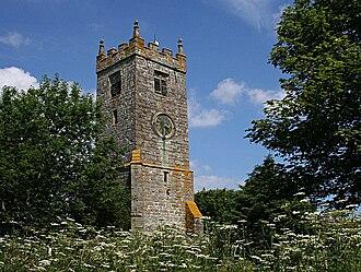 Illogan - Image: St Illogan Church Bell Tower geograph.org.uk 188951