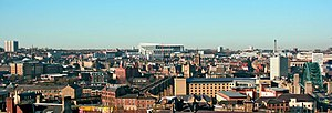 Newcastle City Centre - Newcastle City Centre panorama