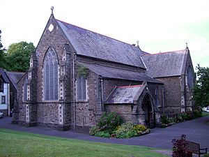 Uplands, Swansea - St. James Church, Uplands, Church in Wales.