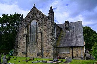 Manston, Leeds - Image: St James The Great Church Of England Church, Church Lane, Leeds (geograph 5036081)