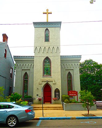 Huntingdon, Pennsylvania - Image: St Johns Episcopal Huntingdon PA