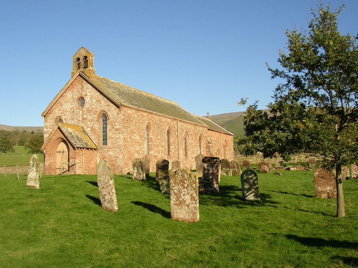 St Lawrence the Martyr's Church, Kirkland, Culgaith CP - geograph.org.uk - 286872.jpg