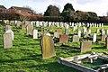 St Nicholas, Feltwell, Norfolk - Cemetery - geograph.org.uk - 1618712.jpg