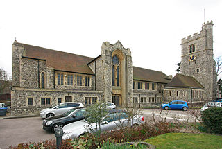 St Peter and St Paul, Bromley Church in Kent , United Kingdom