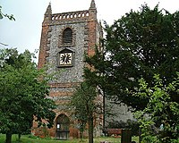 St Peter and St Paul Church at Shoreham, Kent - geograph.org.uk - 25207.jpg