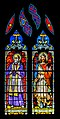 Stained-glass windows of the St Gerald abbey church of Aurillac 02.jpg