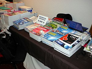 Linux Magazine - Issues of the Spanish-language edition for sale