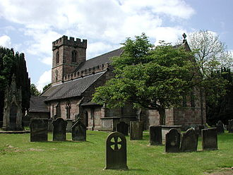 Standon, Staffordshire - Image: Standon (Staffs) All Saints Church geograph.org.uk 69760