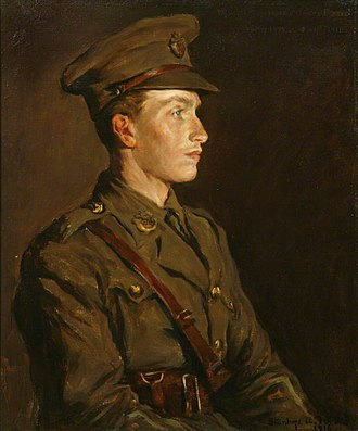 Stanhope Forbes - Forbes' portrait of his son Alec, who died in the First World War