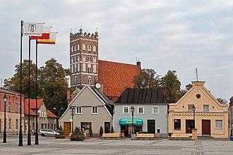 Środa Wielkopolska - Collegiate church and marketplace