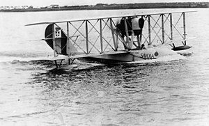 StateLibQld 1 161751 General De Pinedo's Savoia Marchetti seaplane landing on the Brisbane River in 1925.jpg