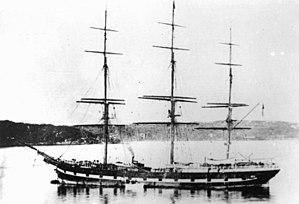 Rodney (clipper) - Image: State Lib Qld 1 173683 Rodney (ship)