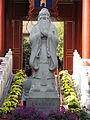 Statue de Confucius au Temple de Confucius de Pékin.jpg