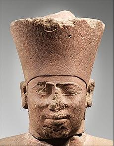 Statue of Nebhepetre Mentuhotep II in the Jubilee Garment MET DP302397.jpg