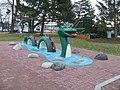 Statue of Ogopogo in a Kelowna park..jpg