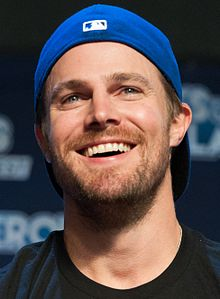 Stephen Amell - the cool, hot,  actor  with German, French, Irish, Canadian, Scottish,  roots in 2019