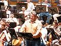 Stephen Gould, Ensaio Tristán e Isolda, Palacio da ópera, A Coruña 7.JPG