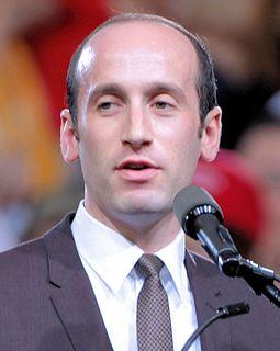 Stephen Miller (political advisor) political advisor for policy