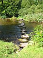 Stepping Stones across River Barle - geograph.org.uk - 53642.jpg