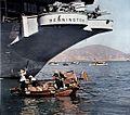 Stern of USS Bennington (CVA-20) c1957.jpg