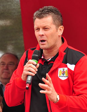 Steve Cotterill - Cotterill as manager of Bristol City in 2015