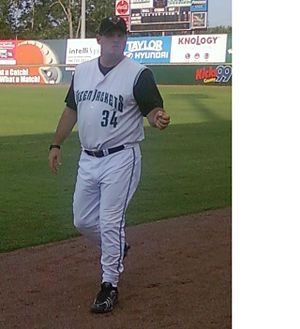 Steve Kline (left-handed pitcher) - Steve Kline, as pitching coach of the Augusta Greenjackets