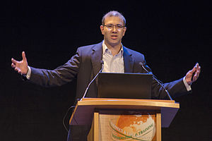 Steven E. Brenner - Steven E. Brenner speaking at the ISMB conference in 2015.