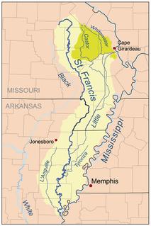 Castor River (Missouri) river in the United States of America