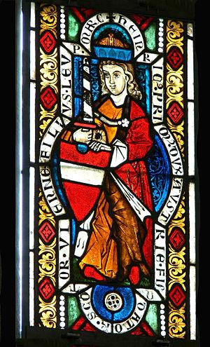 Henry II, Duke of Austria - Image: Stift Heiligenkreuz Babenbergerfenster 2 Heinrich