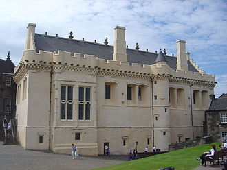 Harling (wall finish) - The Great Hall at Stirling Castle