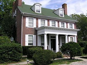 Stokes-Evans House - The Stokes-Evans House in 2012