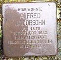Stolperstein Bad Nenndorf Parkstraße 8 Alfred Jacobsohn