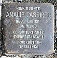 Stolperstein Bundesallee 169 (Wilmd) Amalie Cassirer.jpg