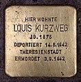 Stolperstein Eisenzahnstr 65 (Wilmd) Louis Kurzweg.jpg