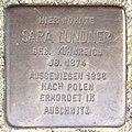 Stolperstein HB-Fliederstrasse 41a - Sara Lundner - 1874.jpg