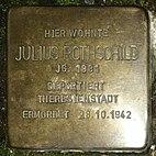 Stolperstein Obere Marktstraße 7, Julius Rothschild, Groß-Umstadt, Landkreis Darmstadt-Dieburg.jpg