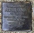 Stolperstein Otawistr 23 (Weddi) Julius Lewin.jpg
