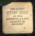 Stolperstein Sigmaringer Str 25 (Wilmd) Lothar Jonas.jpg