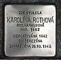 Stolperstein für Karolina Rothova.JPG