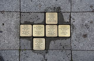 Stolpersteine in Karlovy Vary Region Wikimedia list article