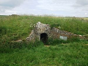 Long barrow - A view of an entrance at Stoney Littleton Long Barrow