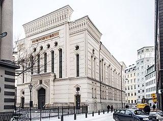 Stockholm Synagogue synagogue in Stockholm, Sweden
