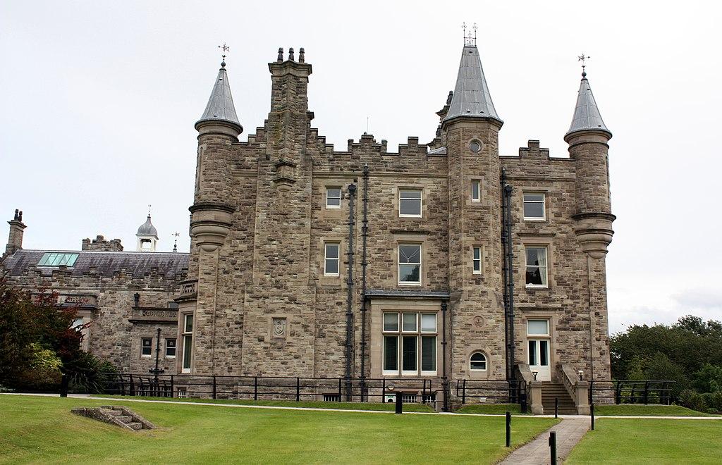 Front of Stormont Castle