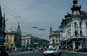 Regele Ferdinand Avenue, Cluj-Napoca - The Northern end