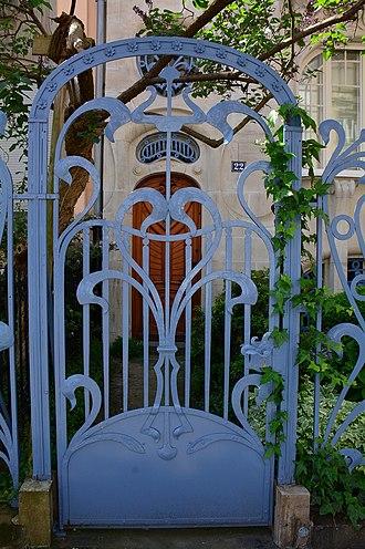 Hôtel Brion - Image: Strasbourg Hôtel Brion détail (1)