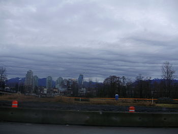 English: Stratus undulatus clouds. I took this...