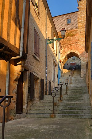 Old alley in Le Mans, France Camera: Nikon D90...