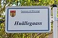 Stroosseschëld Huällegaass, Diänjen-101.jpg
